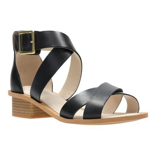 Clarks Sandcastle Ray Black Sandals cost sale online iunFS2eFX