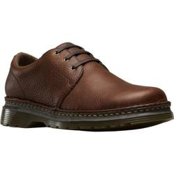Men's Dr. Martens Hazeldon 3 Tie Shoe Dark Brown Grizzly Leather