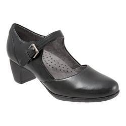 Women's SoftWalk Irish Mary Jane Black Leather