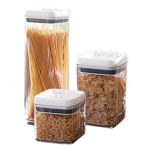 Exclusive 6-Piece Airtight Food Storage Plastic Container Set SC10158