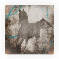 Lightboxjournal 'Gypsy Gray Center' Canvas Art