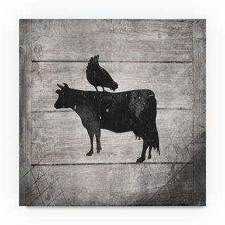 Lightboxjournal 'Farm Fresh Cow' Canvas Art