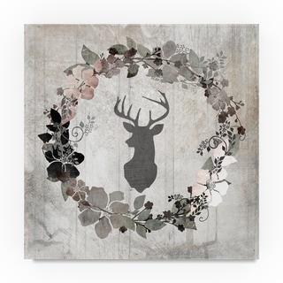 Lightboxjournal 'Modern Deer' Canvas Art