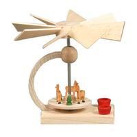 """Alexander Taron Dregeno Mini Pyramid - Deer - 2.75""""H x 3""""W x 3""""D"""