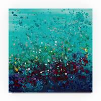 Hilary Winfield 'Ocean Break' Canvas Art