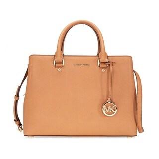 Michael Kors Savannah Large Acorn Satchel Handbag