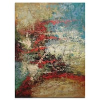 """Modern Abstract Art, Fine original oil painting on canvas 24""""x36"""" - 24 x 36"""
