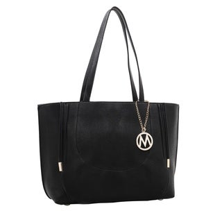 MKF Collection by Mia K. Farrow Adorned Girl Tote Handbag