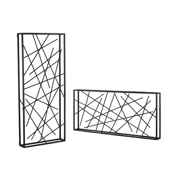 UTC39574-AST: Metal Line Abstract Sulpture with Frame Assortment of ...