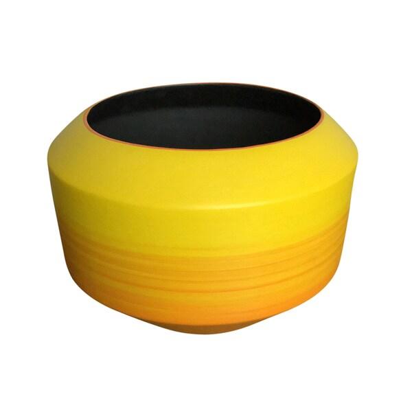 Shop Decorative Ceramic Vase Yelloworange Free Shipping Today