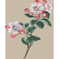 "Floragenius Counted Cross Stitch Kit 6""X9"""