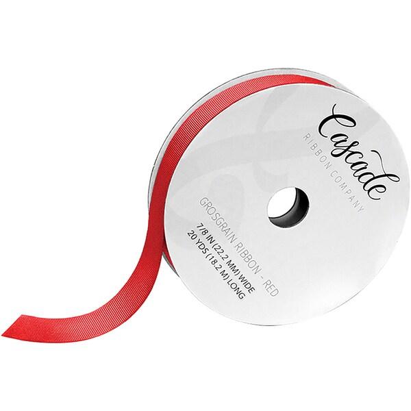 """Cascade Grosgrain Ribbon 7/8"""" 20yd"""