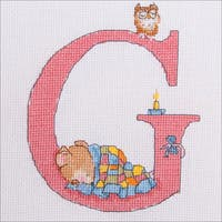 "Seraphina Counted Cross Stitch Kit 5.75""4.75"""