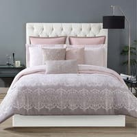Christian Siriano Ombre Lace Printed 3-piece Comforter Set