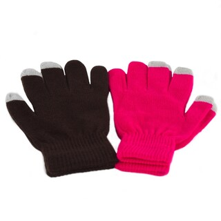 2 Pack Women's Texting Gloves Winter Knit Touch Screen Glove - iPhone Samsung