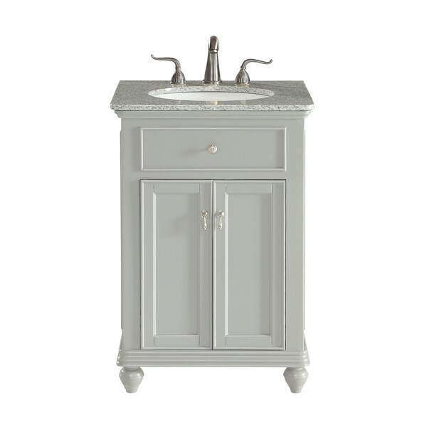 Shop In Single Bathroom Vanity Set In Light Grey Free Shipping - Light grey bathroom cabinets