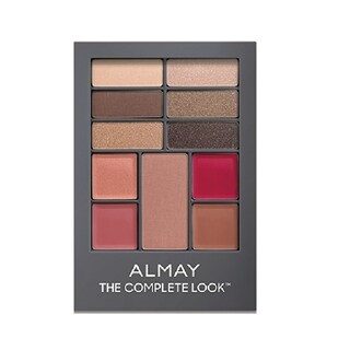 Almay The Complete Look Palette, Makeup for Eyes, Lips and Cheeks #200 Medium Skin Tones