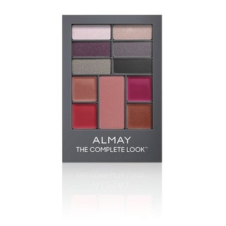 Almay The Complete Look Palette, Makeup for Eyes, Lips and Cheeks #300 Medium/Deep Skin Tones