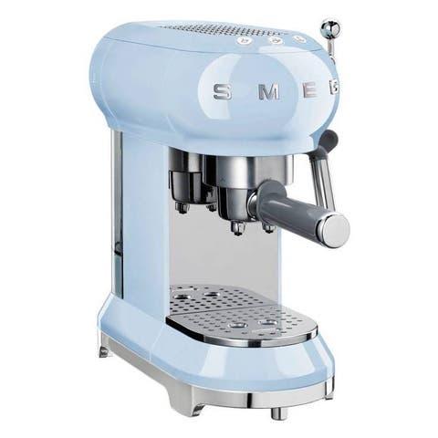 Smeg Espresso 50's Retro Style Aesthetic Espresso Coffee Machine, Red