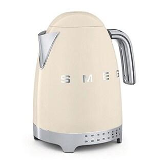 SMEG USA Variable Temperature Tea Kettle Cream