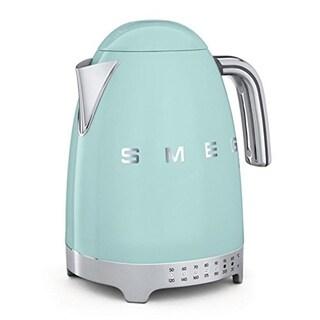 SMEG USA Variable Temperature Tea Kettle Pastel Green