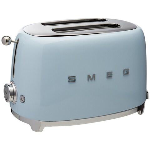 SMEG USA 2 Slice Toaster Pastel Blue