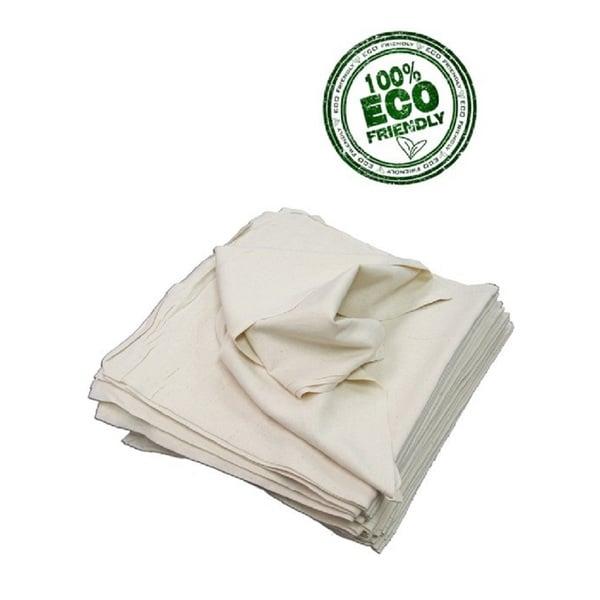 Craft Basics 50-Pack Unbleached Beige Cotton Flour Sack Towel