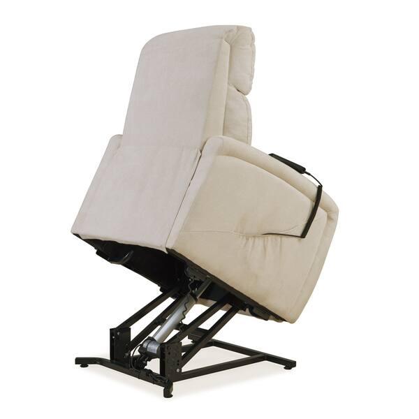 Fabulous Shop Carson Carrington Harlev Cream Chenille Power Recline Dailytribune Chair Design For Home Dailytribuneorg