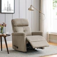 ProLounger Stone Nubuck Rocker Recliner Chair