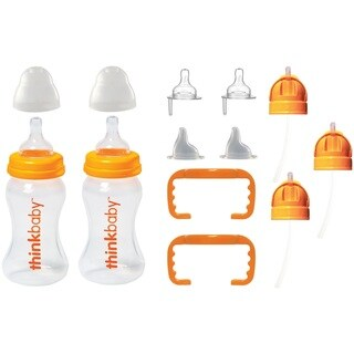 Thinkbaby All In One Bottle with Extra Straw Thinkster Conversion Kits