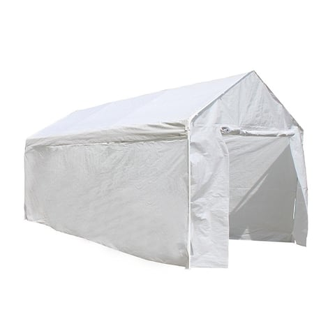 ALEKO 10 X 20 ft Carport Kit Gazebo Party Tent with Removable Walls