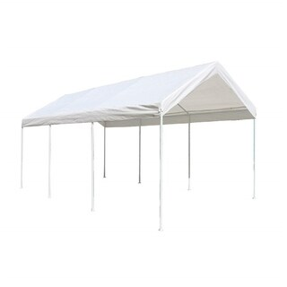 ALEKO 10 X 20 Heavy Duty Steel Frame Carport Gazebo Party Tent