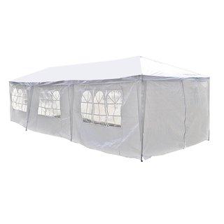 Shop Ainfox 17x10ft Heavy Duty Enclosed Carport Canopy ...