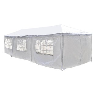 ALEKO 30 x 10 feet Carport Storage Garage Party Tent with Windows