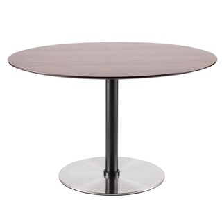 Dillon Mid Century Modern Dining Table By LumiSource   Walnut