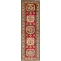 eCarpetGallery Hand-Knotted Finest Gazni Red  Wool Rug (2'9 x 10'1)