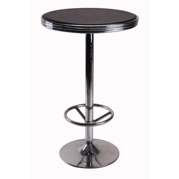 Shop Furniture Direct: Shop Vogue Furniture Direct Bar Table With Foot Rest