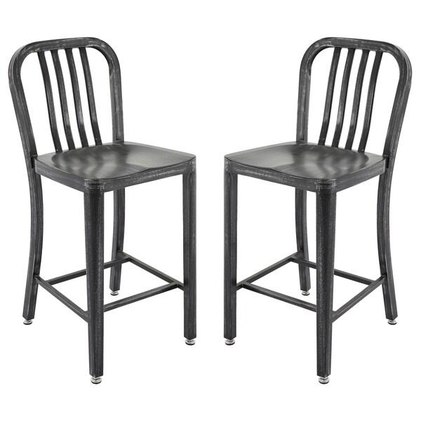 Shop Furniture Direct: Shop Vogue Furniture Direct Metals 24-inch Barstools (Set