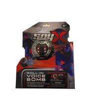 Roll In Voice Bomb - Surprise the enemy with your recorded message - Black