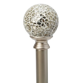 """Home Details Champage Palermo 86-120"""" Adjustable Curtain Rod"""