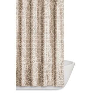 Truly Soft Celine Geometric Printed Shower Curtain