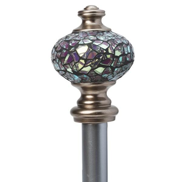 Shop Home Details Iridescent Mosaic 48 86 Quot Adjustable