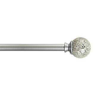 """Home Details Palermo 28-48"""" Adjustable Curtain Rod"""