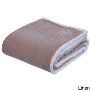 Berkshire Blanket Cozy Corduroy VelvetLoft Blanket