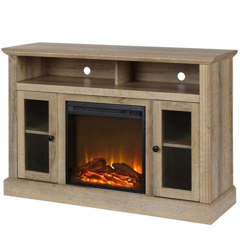 Avenue Greene Garnett Electric Fireplace TV Console for TVs up to 50 inches - N/A