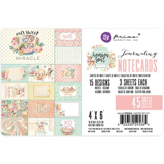 """Heaven Sent 2 Double-Sided Journaling Cards 4""""X6"""" 45/Pkg"""