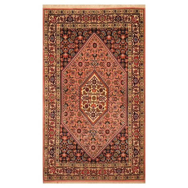 Fine Round Persian Bidjar Area Rug Hand Knotted Wool And: Shop Handmade Herat Oriental Persian Hand-knotted Tribal