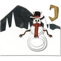 Sizzix THoltz Thinlits Die Snowman Scene