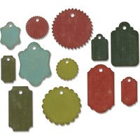 Sizzix THoltz Thinlits Die Gift Tags