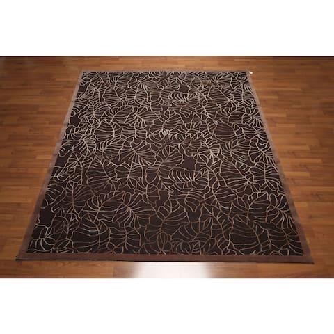 Wool and Silk Persian Oriental Area Rug - 8' x 10'